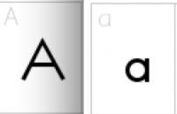 Lettertype voor kleuters