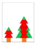 Kerstfiguren naleggen