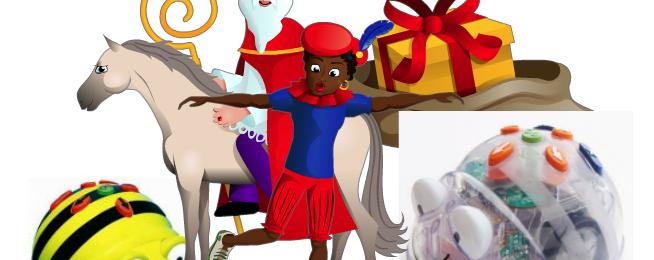 Sinterklaas & de Bee Bot