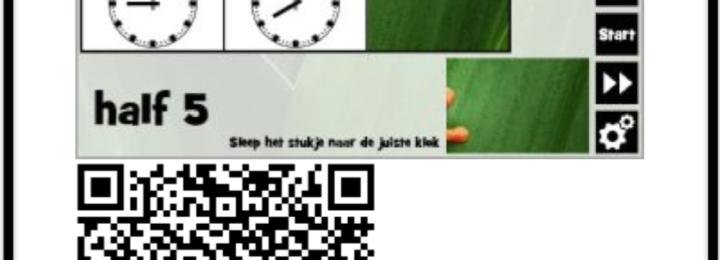 QR Codes gebruiken voor klokkijken