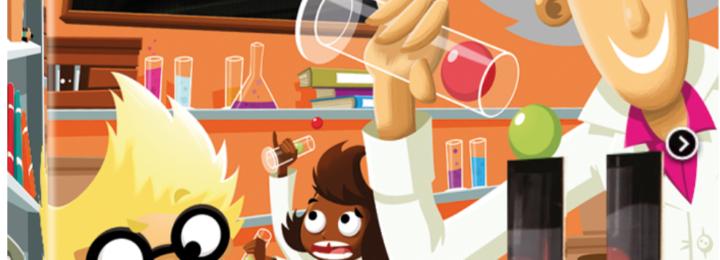 Dr. Eureka – Vul de reageerbuizen