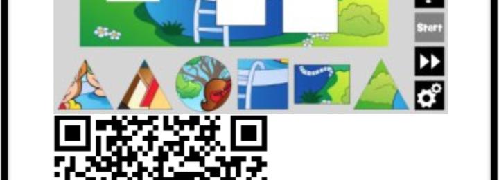 QR Codes thema zomer