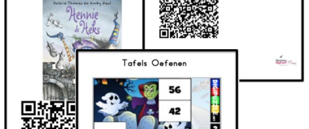 QR Codes Kinderboekenweek 2017