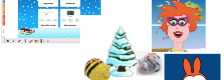 Thema Winter Met Apps & Digibord Materiaal