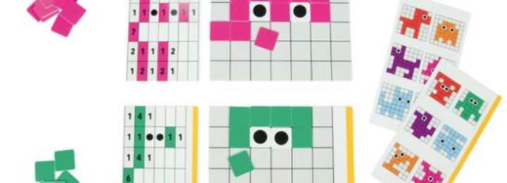 Codeer met Pixels