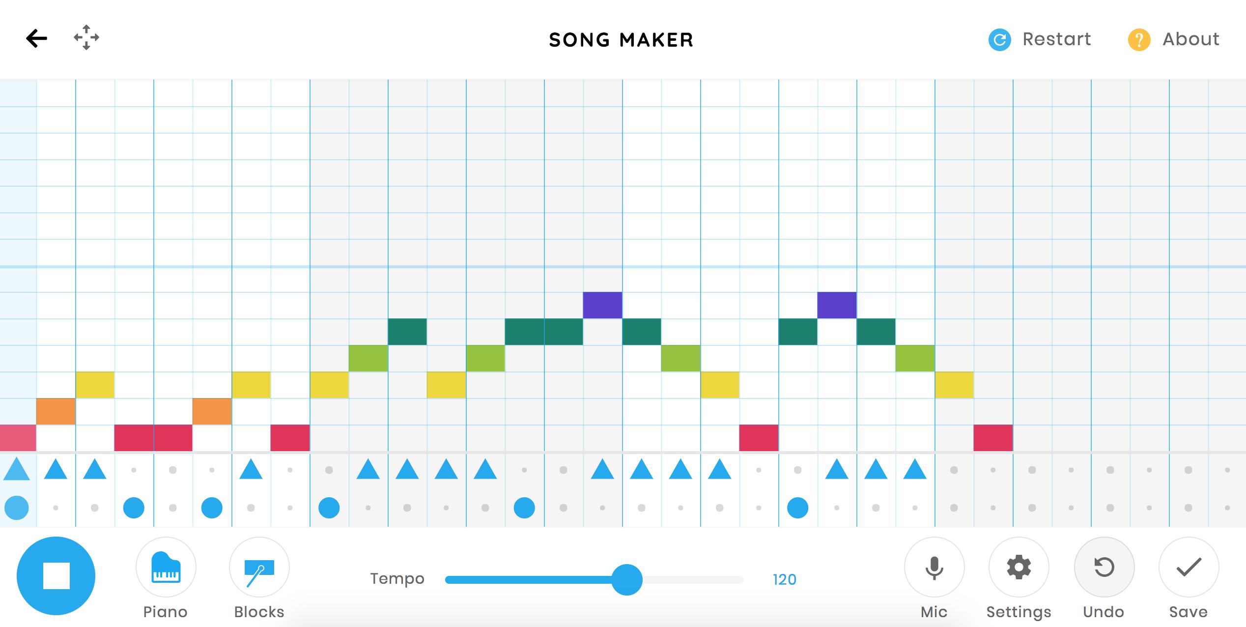 Fonkelnieuw Kleuters digitaal! Chrome Music Lab - Daar zit muziek in LC-51