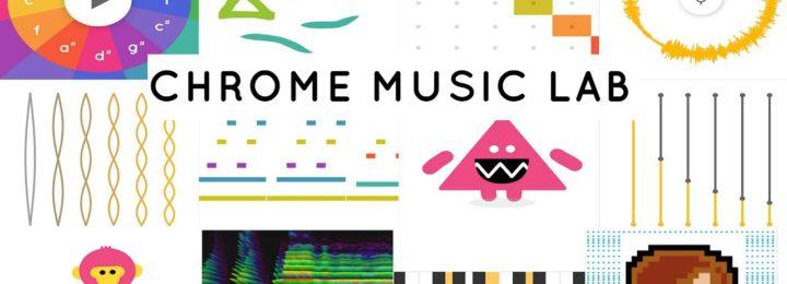 Chrome Music Lab – Daar zit muziek in!