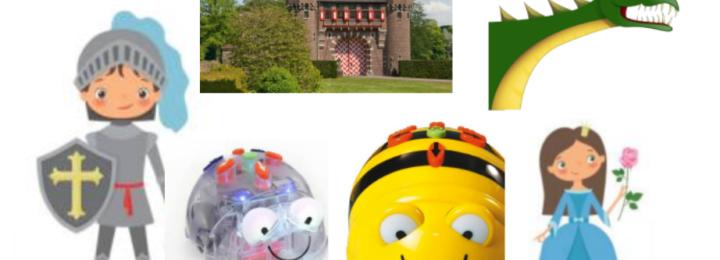 Bee Bot en Ridders