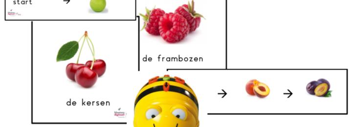 Bee Bot activiteiten met een fruitig karakter!