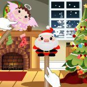 Speel met kerstpoppen een kerstverhaal