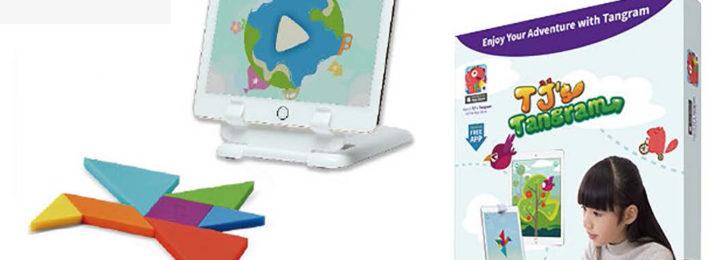 TJ's Tangram – Maak tangramfiguren met de iPad!