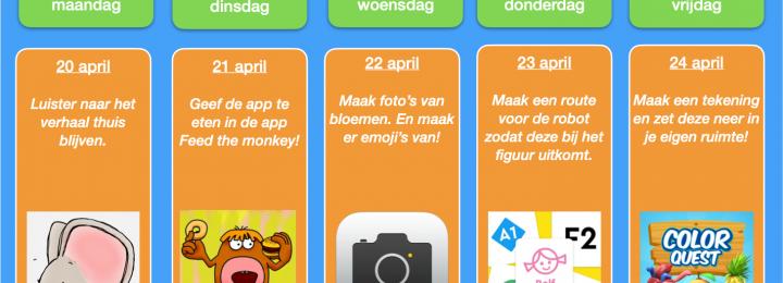 Thuis oefen bingo! Samen digitaal aan de slag! Week 6