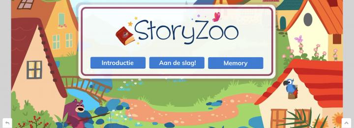 Bewegen en leren met Storyzoo